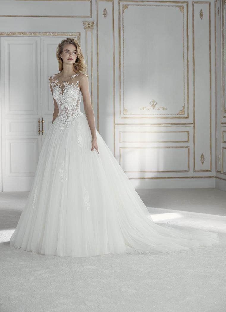 Robe de Mariée PETRA | Blanc Couture