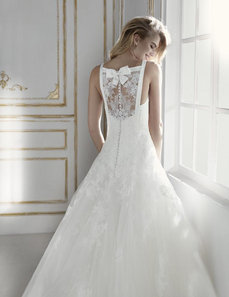 Robe de Mariée PILAR | Blanc Couture