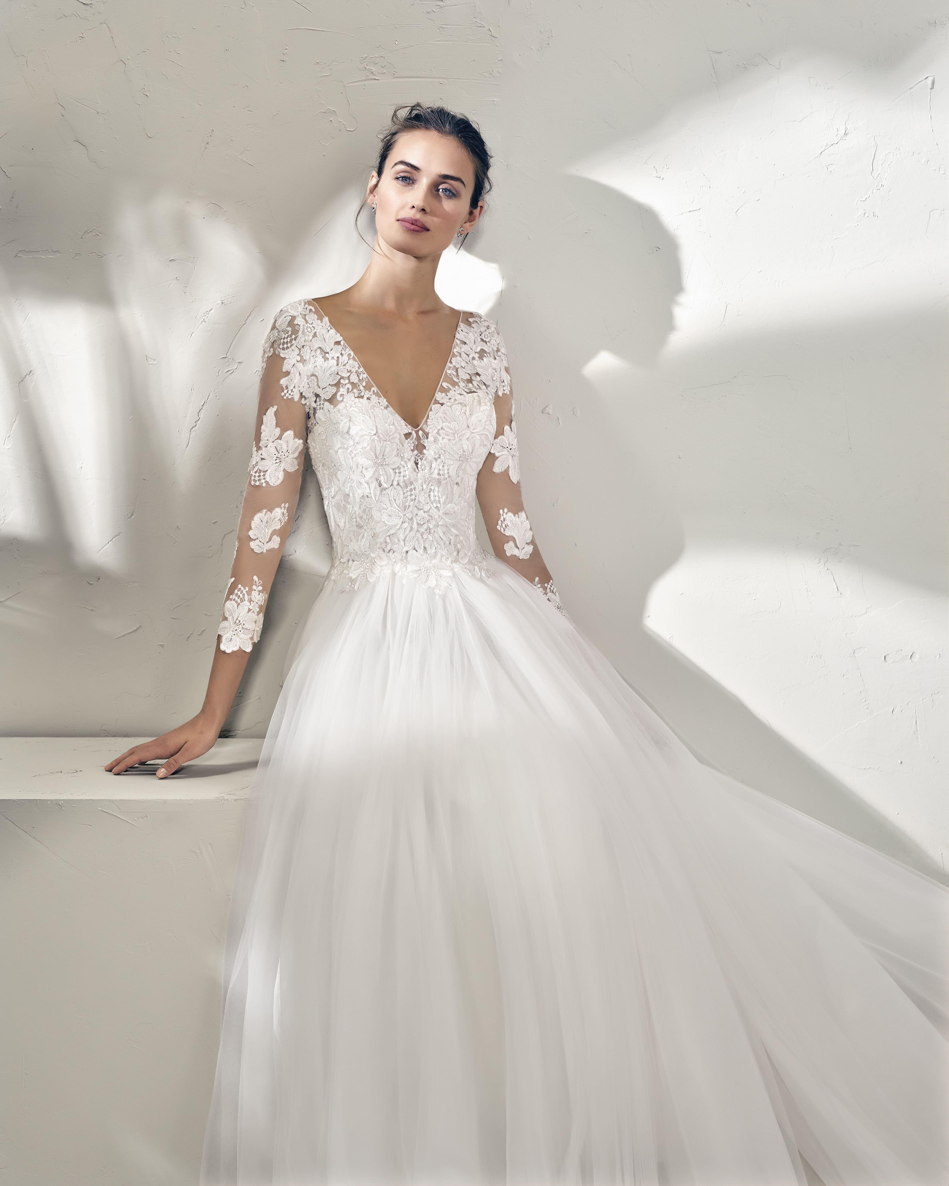 Robe de Mariée FREIRE | Blanc Couture